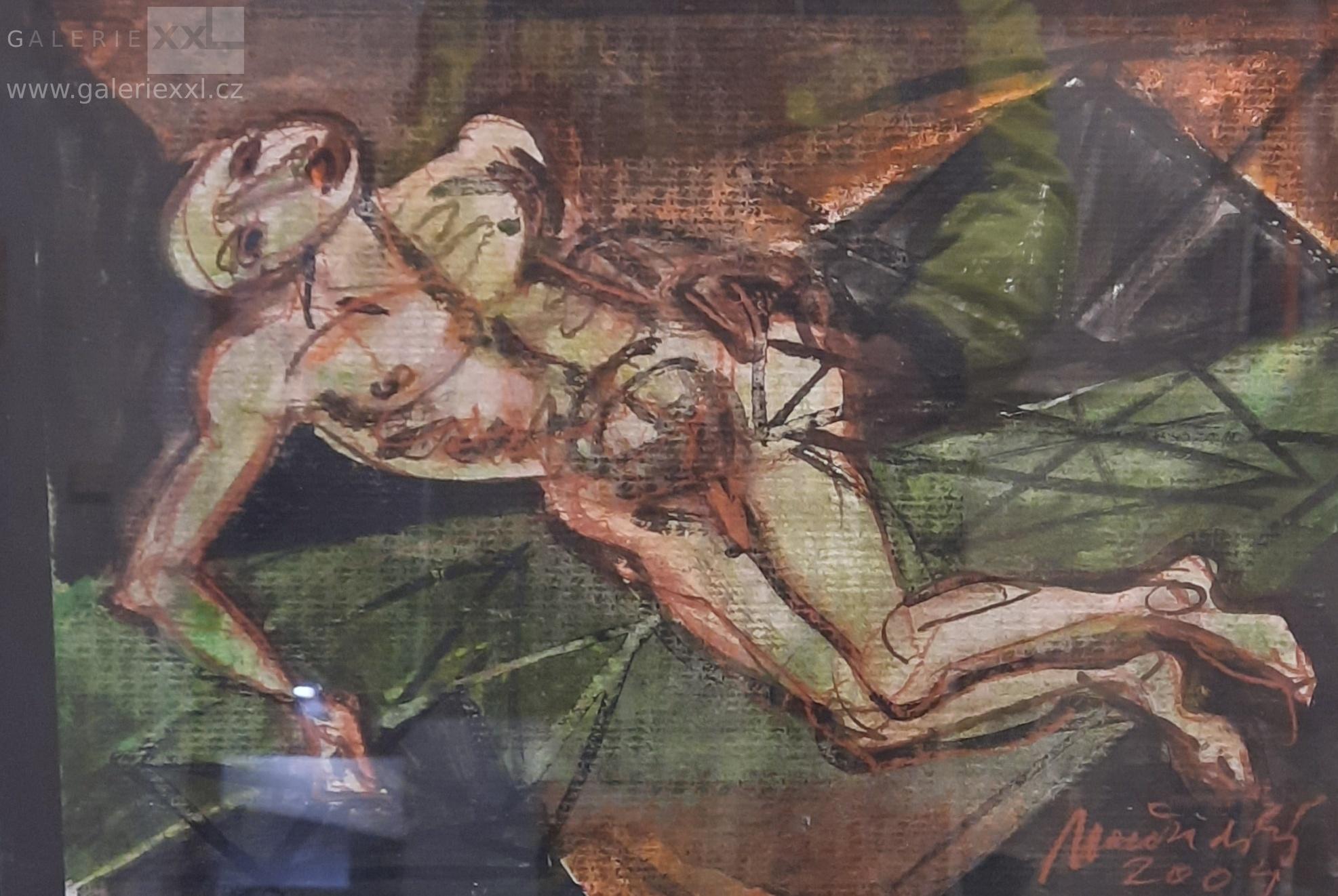 Ležící muž (Jiří Načeradský)